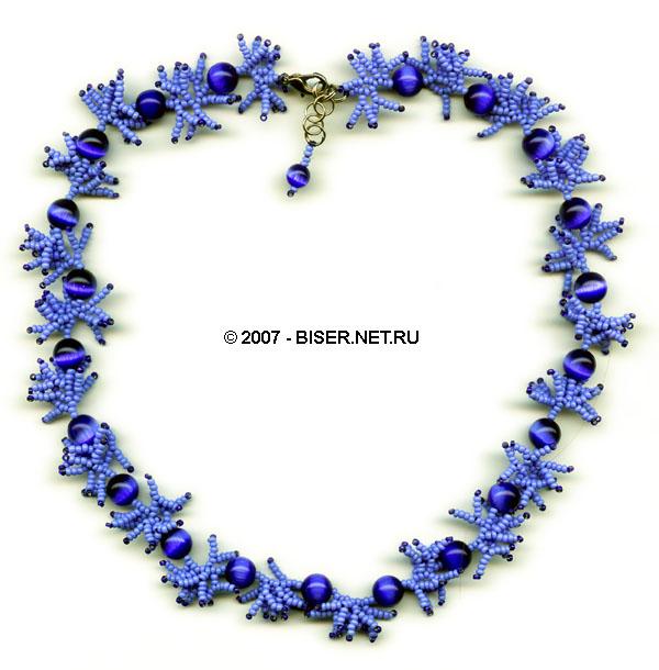 Маркетанка - Ожерелье: Бисер